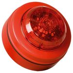Compro Flitslamp LED Solista Maxi Deep IP65 Rood/Rood