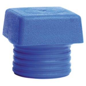 WIHA Vierkante Slagdop blauw 833-1 voor Safety Hamer 40mm