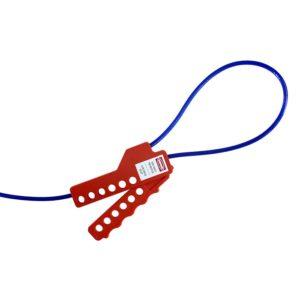 AMW Lockout Kabel Vergrendeling 2,5 meter met stalen kern
