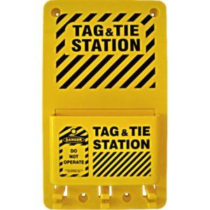 AMW Lockout Tag & Tie Station